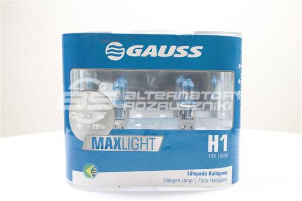 Żarówka IL802 (GAUSS) Żarówka MAX LIGHT (opak. 2szt.)